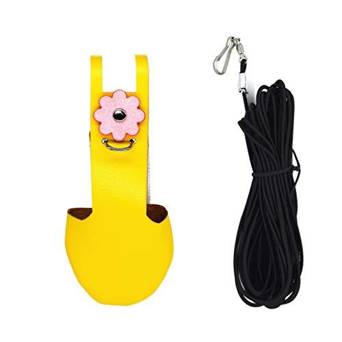 HOTPINK1 Disfraz de pjaro loro para periquito de ninfa, de terciopelo con cuerda para cinturn, 5#