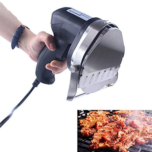 NWYJR Cuchillo Eléctrico para Kebab,Cortador de rebanador de Kebab Carne de Kebab eléctrico de Mano Cuchillo de Kebab eléctrico Profesional Slicer para Cordero, Cerdo y Pollo