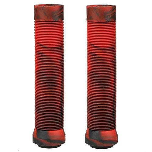 KSFBHC Fahrradlenkergriffe Soft-Fahrradgriffe Scooter Freestyle Grips Scooter Griffe (Color : Red)