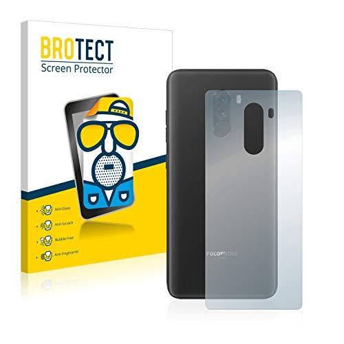 brotect Pellicola Protettiva Opaca Compatibile con Xiaomi Pocophone F1 (Posteriore) Pellicola Protettiva Anti-Riflesso (2 Pezzi)