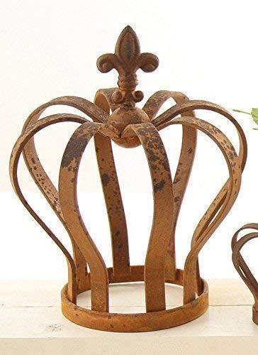 linoows Liane Couronne, Support pour Plantes Grimpantes, Ancien XL Motif Floral, Décoration de Jardin Fonte