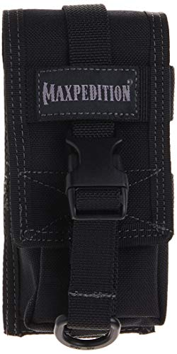 Maxpedition TC-1 Bolsa de Monedas, 15 cm, Color Negro