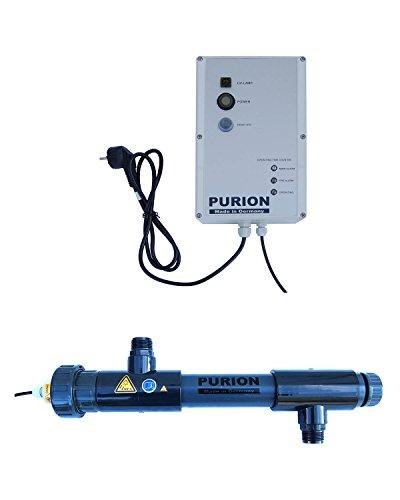 PURION 1000 PVC-U UV-C UV-C Lámparas del Sistema UVC Esterilizador Limpiador Clarificador...