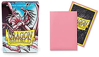 Dragon Shield Matte Mini Japanese Pink 60 ct Card Sleeves Individual Pack