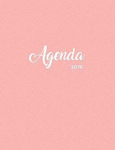 Agenda 2019: Semanal Diario Organizador Calendario - Alpaca Y Cactus Rosa