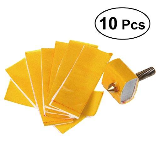 UEETEK 10pcs Heizblock Baumwolle Isolierung Düse Wärmeisolierung 3D-Drucker-Zubehör