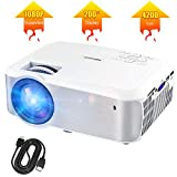 Best Art Projectors - Video Projector, TOPVISION Native 720P Full HD LED Review