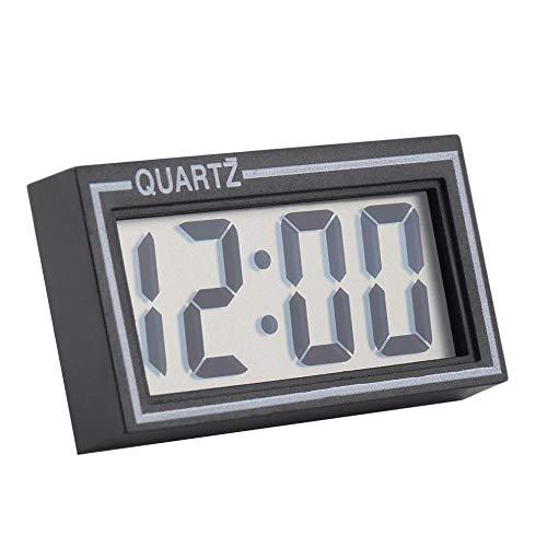 Eieruhr Kleine Digitale Lcd-Tabelle Auto Armaturenbrett Schreibtisch Datum Zeit Kalender Kleine Uhr Langlebig Für Den Heimgebrauch Uhr