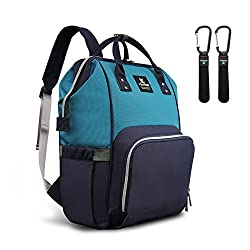 Image of Hafmall Diaper Bag Backpack...: Bestviewsreviews