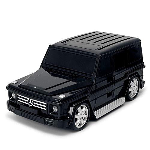 Ridaz Kids Travel Gepäck Handkoffer - Mercedes G-Klasse - Schwarz