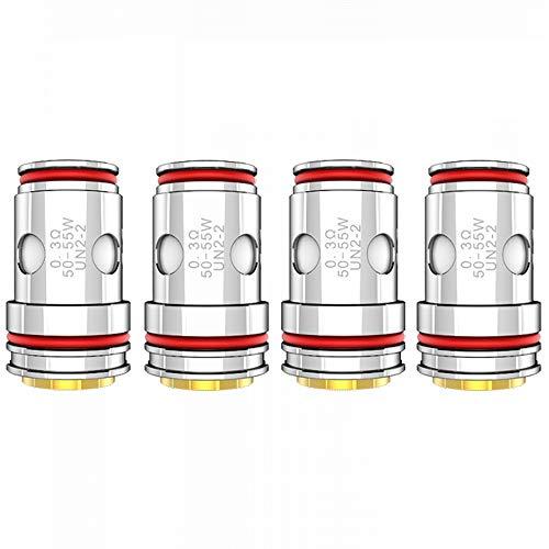 Uwell Crown 5 (V) Coil Serie 4er Pack Verdampferköpfe Widerstand 0,3Ohm