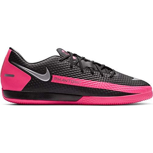 Nike Phantom GT Academy IC - Zapatillas Deportivas, Color Negro y Rosa