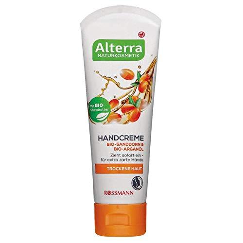 Alterra Handcreme Bio-Sanddorn & Bio-Arganöl, 75 ml