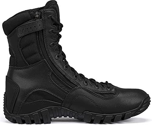 Belleville Tactical 960z Black Side-Zip Boot