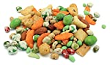 Oregon Farm Fresh Snacks Wasabi Pea Mix and Crackers - Locally Sourced and Freshly Made Wasabi Snacks Including Wasabi Peanuts, Peas and Crackers - Enjoy Healthier Sugar-Free Snacking (14 oz)