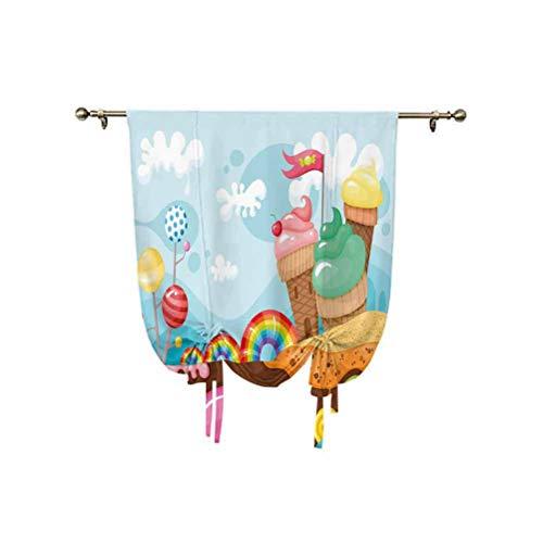Cortina opaca con aislamiento térmico para decoración de helados, 95 x 150 cm, para decoración del hogar