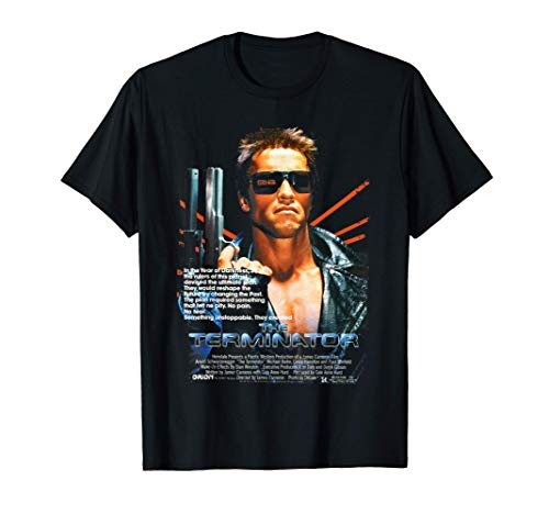 US The Terminator Poster Movie 01 Black...