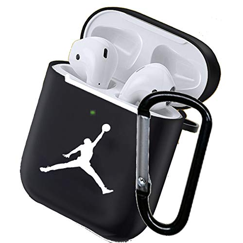 Compatible for AirPod Case 1/2 Silicone Protective Durable Shockproof Drop Proof with Keychain...