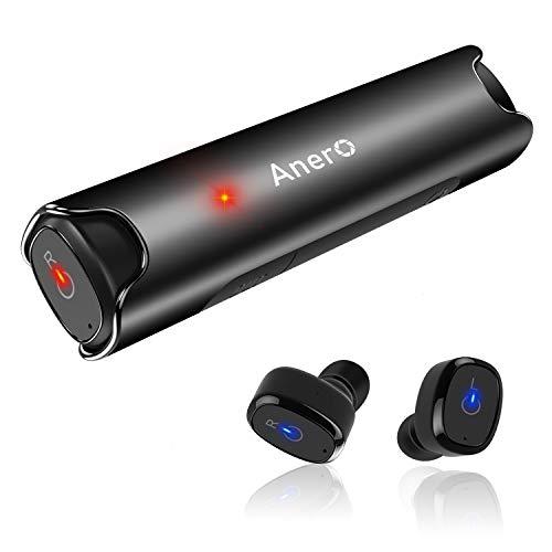 【進化版 Bluetooth 5.0 IPX7完全防水】 ワイヤレス イヤホン 40時間連続駆動 Bluetooth イヤホン 高音質 ...