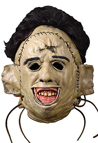 Close Up The Texas Chainsaw Massacre Latex Maske Leatherface 1974 - Material: Kunststoff, in Originalkarton-Design. Hersteller: Trick or Treat.