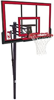 Spalding NBA In-Ground Basketball System - 48 Polycarbonate Backboard [並行輸入品]