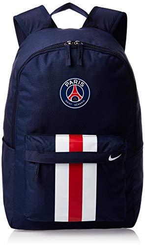 Nike 21 Ltrs Midnight Navy/University Red/White Casual Backpack (BA5941-410), medium