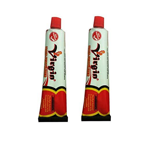 Virgin Hair Fertilizer Anti Dandruff Condition Cream 125 Gram (2-Pack)
