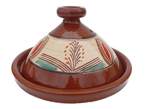 Marokkanische Tajine zum Kochen Ø 30 cm für 2-4 Personen - Orientalisch Kochen - 905118-000314
