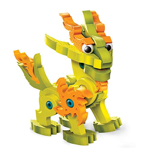 やわらかパズルブロック ブロッコ ドラゴンシリーズ ライトドラゴン