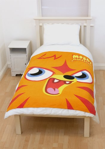 Character World Moshi Monsters Monster Couverture en Polaire