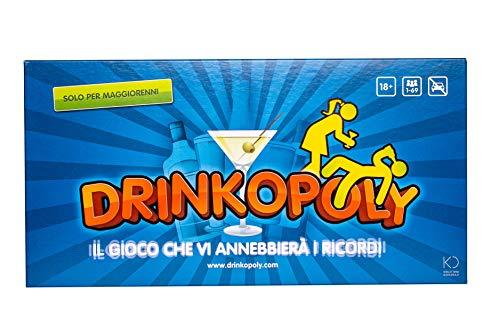 Drinkopoly - Il Gioco Che VI annebbierà i ricordi! - Giochi da Tavolo per Adulti