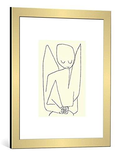 kunst für alle Bild mit Bilder-Rahmen: Paul Klee Vergesslicher Engel 1939