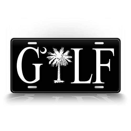 SignsAndTagsOnline South Carolina Golf License Plate Palmetto SC Golfing Auto Tag