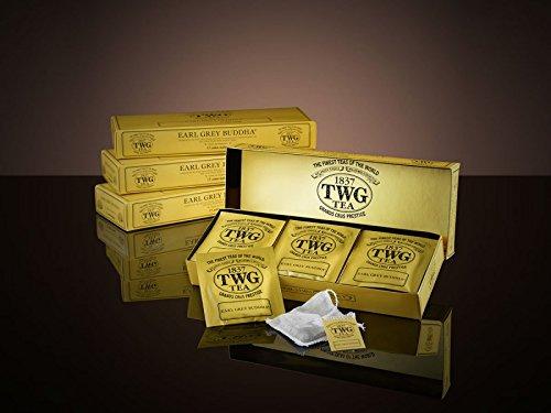 シンガポールの高級紅茶TWGシリーズ(EARL GREY BUDDHA) アールグレイブッダ - 15茶パック - 並行輸入品 [並行輸入品]