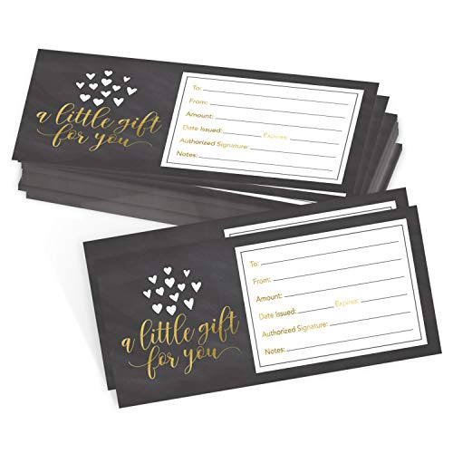 top christmas gifts vouchers and gift cards 25 4x9 Rustic Blank Gift Certificate Cards Vouchers For Holiday, Christmas, Birthday Holder, Small Business, Restaurant, Spa Beauty Makeup Hair Salon, Wedding Bridal, Baby Shower Cash Money Printable