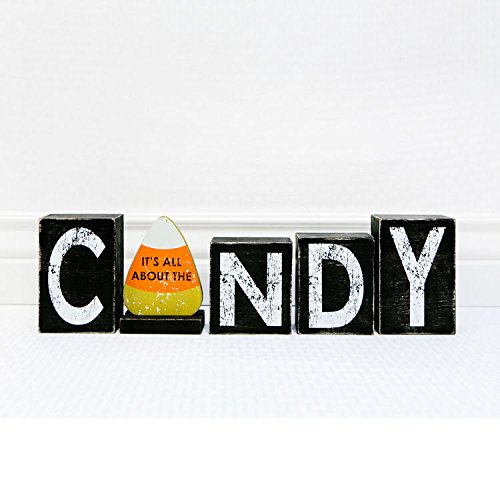 Adams & Co. Halloween Decor - All About The Candy Blocks