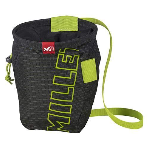Millet - Ergo Chalk Bag - Sacco per magnesite - Ergonomico e resistente - Arrampicata - Colore: Nero