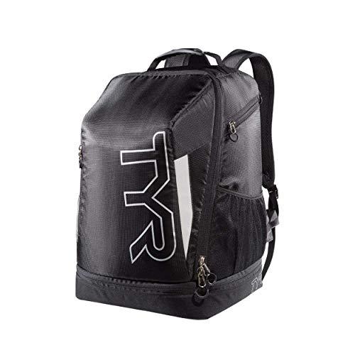 TYR Apex: Mochila bolsa de triatlón  Unisex   Negro plata