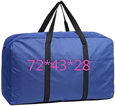 Oxford Cloth Waterproof Moving Bag Extra Large Duffel Thickening Packaging Woven