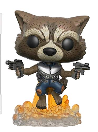 Funko Rocket Figura de Vinilo, coleccion de Pop, seria Guardians of The Galaxy 2, Multicolor (13270)
