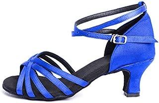 Latin Shoes Girls&Women's Ballroom Dance Shoes Women Latin Dress Shoes Salsa Performance Dance Shoes