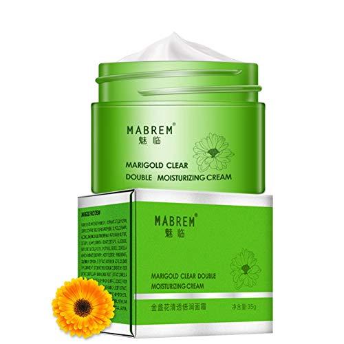 Crema facial hidratante hidratante para el cuidado de la piel de la esencia nutritiva de Calendula