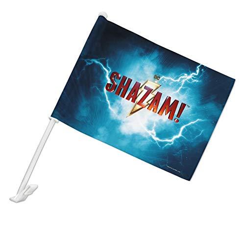 GRAPHICS & MORE Shazam! Fahne mit Fensterclip und Stangenhalterung