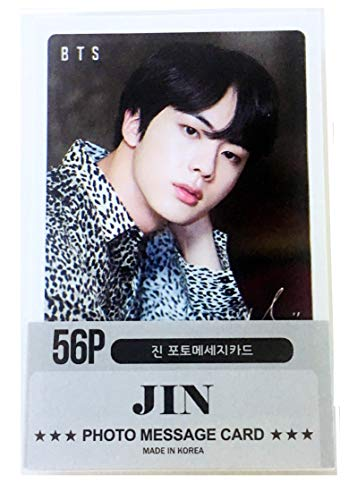 BTS Jin Solo Photocards 56Pcs