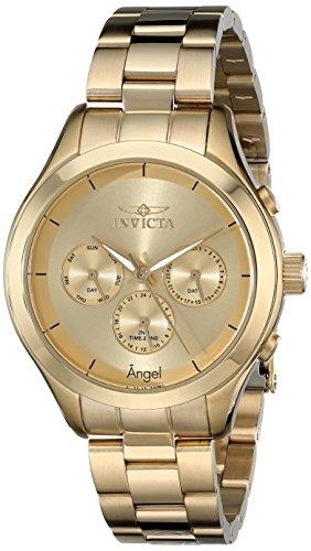 Invicta 12466SYB - Reloj de Pulsera Mujer, Acero Inoxidable, Color Oro