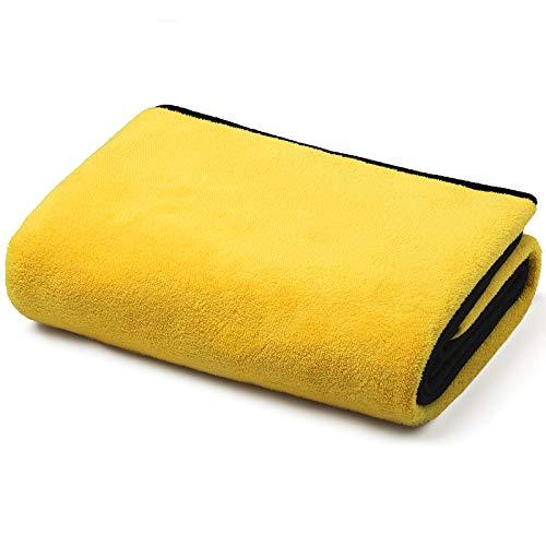 HEPEENG Toalla de baño para mascotas, toalla de microfibra súper absorbente, toalla de secado para perros, lavable a máquina para perros pequeños y grandes y gatos