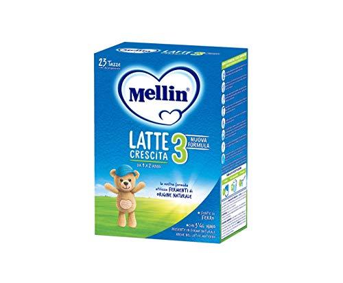 Mellin 3 Latte in Polvere di Crescita - 4 Confezioni di 800gr [Totale = 3200gr]