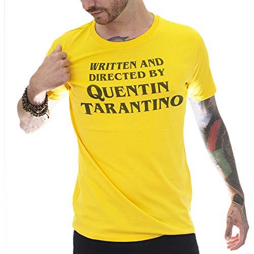 Mush T-Shirt in Cotone Biologico M Uomo Titolo di Coda REGIA Quentin Tarantino