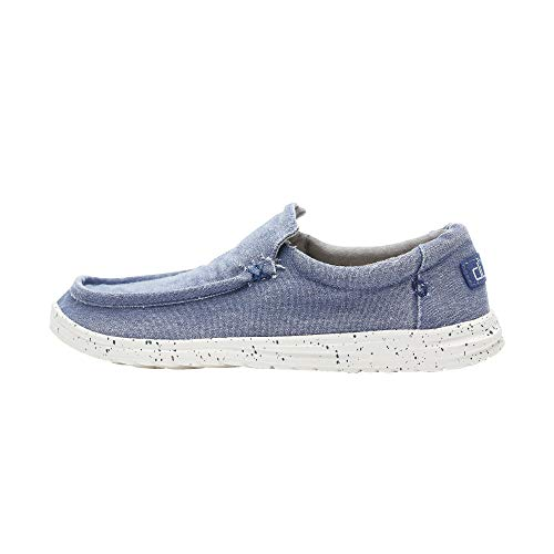 Mikka De Dude Shoes Hombres Lavado Indigo UK9 / EU43