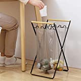 KOOTANS Camping Trash Bag Holder Stand Portable Foldable Waste Sorting Garbage Bags Rack Rubbish Storage Organizer for Bedroom, Kitchen, Camping